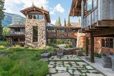 Дом с башней в лесах Вайоминга - Дизайн интерьеров | Идеи вашего дома | Lodgers