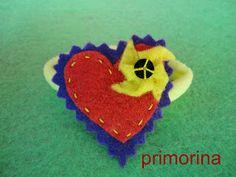Coletero de corazón con molinillo