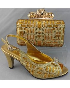 Shoes with matching bags TSH1058