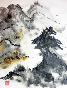 Casey Shannon is a contemporary Sumi-e artist reaching beyond the limits of traditional ink painting.