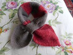 Tour de cou en forme de feuilles - Bigmammy en ligne Tour, Couture, Knitting, Blog, Fashion, Scarves, Tricot Facile, Easy Crochet Shawl, Crochet Patterns
