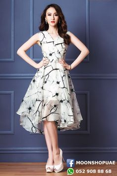 Knee Chiffon Dress for just AED140.00 and free delivery in UAE.   #Dubai #UAE #dress #mydubai #mydubailife #dubaifashion #dubaifashionblogger #abudhabifashion #abudhabi #uaefashion #ajman #sharjah #uaeshopping #dubaistyle #dubaishopping