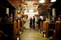 These wedding aisle lanterns are amazing. A more modern alternative to pew bows or flowers
