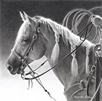 Roping Braids by Mary Ross Buchholz  ~  x   Ropers know what come next.