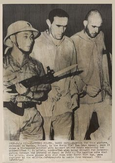 1966 N Vietnamese Soldier Escorts Handcuffed US Pilots Vietnam War | Flickr - Photo Sharing! #vietnam