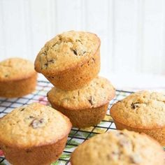 Who doesn't love a good Classic Oatmeal Raisin Muffin? These Classic Oatmeal Raisin Muffins were a request from my smallest. The picky eater, hater of all… Oatmeal Raisin Muffins, Corn Dog Muffins, Baked Oatmeal, Oatmeal Cookies, Savory Muffins, Cherry Muffins, Coconut Muffins, Muffin Bread, Dried Cherries