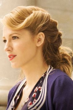 Blake Lively Is The Ultimate Timeless Beauty In These New 'Age Of Adaline' Pics | InStyle UK
