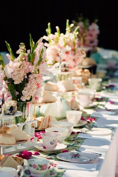 Bing : girl baby shower ideas... Think glass snack sets
