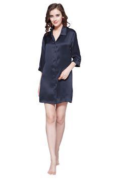 Women Silk Nightshirt  #silk#silk pajamas#silk nightgown#silk sleepwear#silk nightwear#silk nightshirt