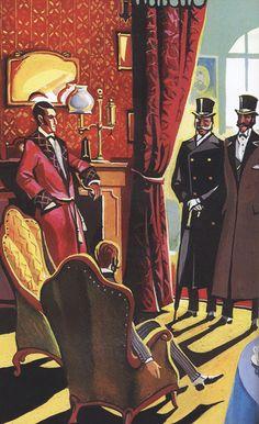 Sherlock Holmes by Igor Savchenkov #sherlockholmes #fanart