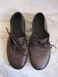 #brown #leather #flats #shoes