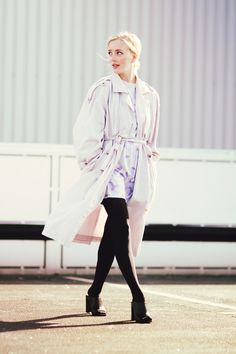 The Old Trench | Framboise Fashion