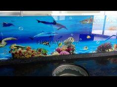 Mutfak Tezgah Arası 3D Cam Modeller  - Montaj / Malzeme Satış 0535 234 58 74 - YouTube
