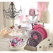 Beach wedding party supplies & decorations will add elegance to any bridal shower or special celebration! Visit My Paper Shop for bulk wholesale discounts! Bridal Lingerie Shower, Bridal Showers, Bachelorette Party Supplies, Pink Martini, Party Rock, Party Items, Girls Night Out, Leopard Spots, Martinis