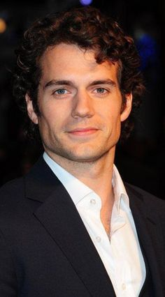 Henry Cavill's curls do bad things to me