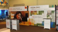 New England Journal of Medicine (NEJM) Conference Graphics- Booth Display