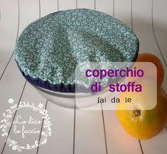 coperchio di stoffa http://www.lodicolofaccio.it/2016/11/coperchio-di-stoffa-cucito-facile.html