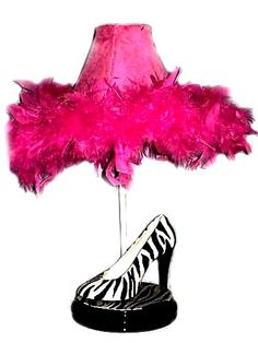 Whimsical Funky Zebra Print High Heel Shoe by whimsicalcollections, $105.00
