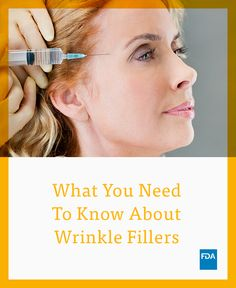 Read the facts about #wrinkle fillers and injectable implants before having the treatment.