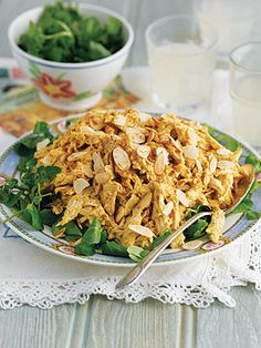 Coronation Chicken...created for the Coronation Banquet for Queen Elizabeth in 1953.
