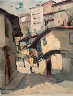 Tarnovo - Nikola Tanev  1939, Post-impressionism