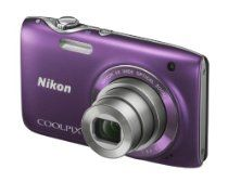 Nikon COOLPIX S3100 Compact Digital Camera - Purple (14MP, 5x Optical Zoom) 2.7 inch LCD Mp 5, Movie Records, Nikon Coolpix, Camera Nikon, Zoom Lens, Fujifilm Instax Mini, Wide Angle, Digital Camera, Cool Things To Buy