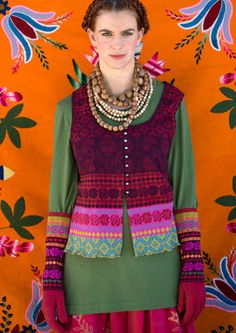 """""""Sirja"""" cotton vest – Muhu Inspiration – GUDRUN SJÖDÉN – Webshop, mail order and boutiques 