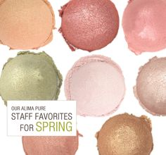 Our Staff reveal their makeup picks for spring!