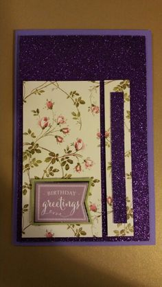 Birthday Purple