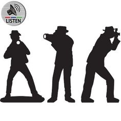 Paparazzi Standees, Hollywood Paparazzi Silhouettes