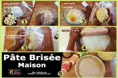 PÂTE BRISÉE - RECETTE DE BASE EN PÂTISSERIE - Le Kanto Camembert Cheese, Dairy, Food, Essen, Meals, Yemek, Eten