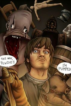 This is an awesome PewDiePie representation!