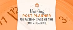 How Using Post Planner for Facebook Saves Me Time (and a Headache!) #facebook #postplanner #savetime