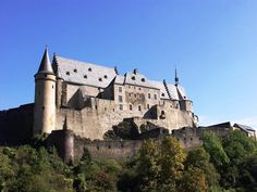 luxembourg castle Luxembourg