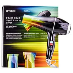 Special Offers - Amika Power Cloud Repair Plus Smooth Hair Dryer Midnight Black - In stock & Free Shipping. You can save more money! Check It (May 27 2016 at 05:35AM) >> http://electricshaverusa.net/amika-power-cloud-repair-plus-smooth-hair-dryer-midnight-black/