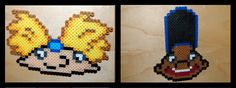 Hey Arnold perler beads by maypoman.deviantart.com on @deviantART