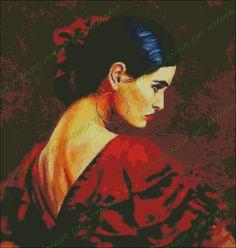 Niños Bailando kitiarapuntodecruz.com1463 × 1540Buscar por imagen Mujer Flamenca 3  gonzalo conradi pintor - Buscar con Google