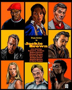 Jackie Brown-Inspired Art