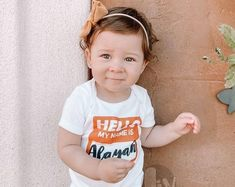 Infant Baby Bodysuits Toddler Clothing and Accessories by LivAndCompanyShop