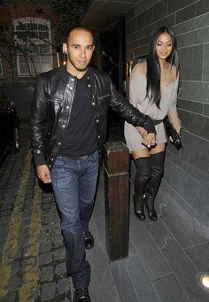 Lewis Hamilton and Nicole Scherzinger Photo - Nicole Scherzinger and Lewis Hamilton Spotted Together in London