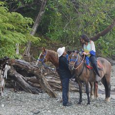For your travel wish list: Riding horses on the beaches of Omega Costa Rica.