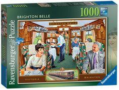 Ravensburger Puzzle 1000pc - Brighton Belle
