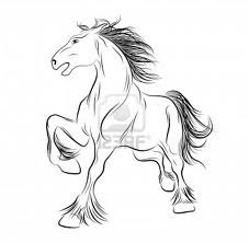 love that its a draft, not many ppl get a draft horse tattoo