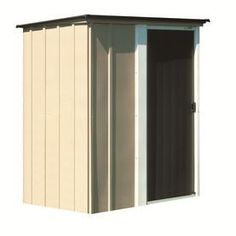 Rubbermaid Roughneck Gable Storage Shed Common 5 Ft X 3
