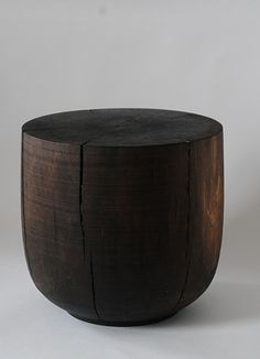 To know more about George Peterson stool/Walnut Black Stain, visit Sumally, a social network that gathers together all the wanted things in the world! Featuring over 27 other George Peterson items too! Wabi Sabi, Wooden Furniture, Furniture Design, Charred Wood, Interior Desing, Modern Stools, Luminaire Design, Low Tables, Inspired Homes