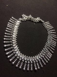 Hand-crafted Pure German Silver Necklace