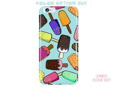 Polsicle Phone Case Icecream iPhone 6 Plus by BannerDesignShop
