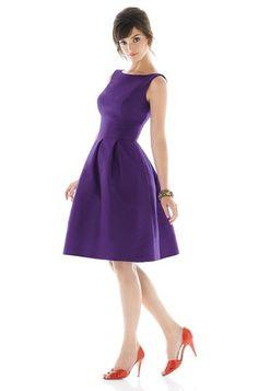 Alfred Sung Bridesmaid Dress.