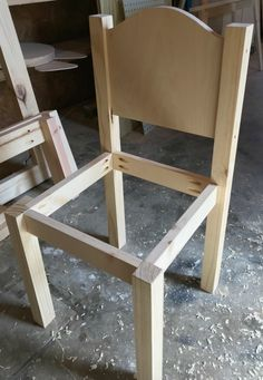 diy Kids chair - How to Build a DIY Kids Play Table and Chairs--Free Building Plans