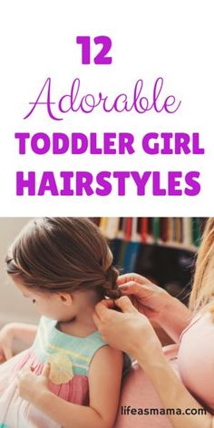 My daughter's hair is SO hard to style. Using these tips to keep all those baby hairs in check!